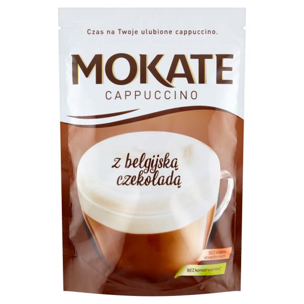 Mokate Cappuccino mit belgischer Schokolade 110 g