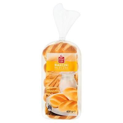 Fine Life Milchbrötchen 400 g 10 Stück