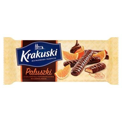Krakuski Stangen mit Orangengelee in Schokolade 144 g