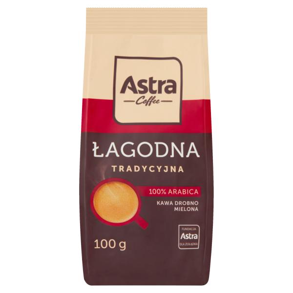 Astra Milder Traditioneller Kaffee fein gemahlen 100 g