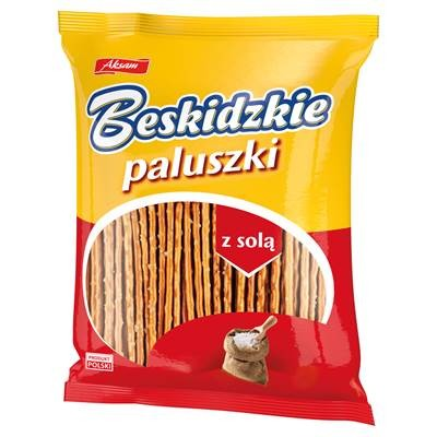 Aksam Beskidzkie Paluszki mit Salz 300 g