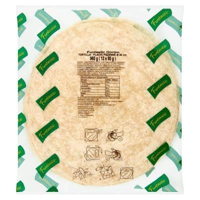 Funtastic Tortilla Weizenpfannkuchen 30 cm 960 g (12 Stück)