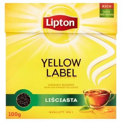 Lipton Yellow Label Schwarzblättriger Tee 100 g