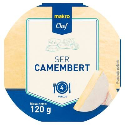 Makro Chef Käse Camembert natur 120 g