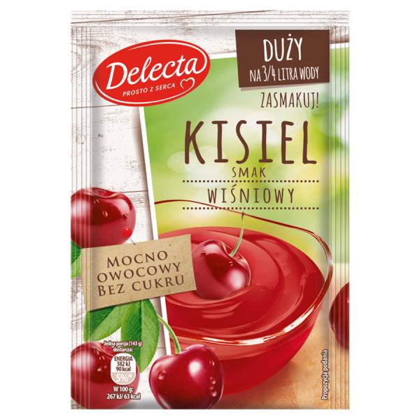 Delecta Kaltschale Sauerkirschgeschmack 58 g