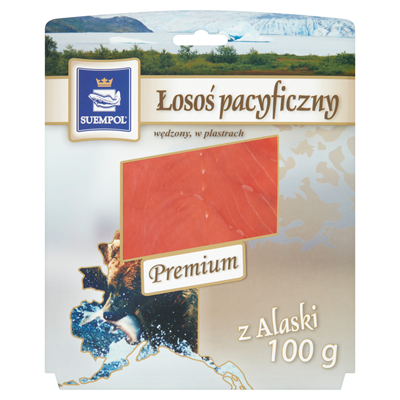 Suempol Pazifiklachs kalt geräuchert Scheiben 100 g