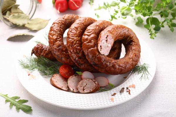 Wolarek Schweinefleischwurst mit Kalbfleisch 1,4 KG