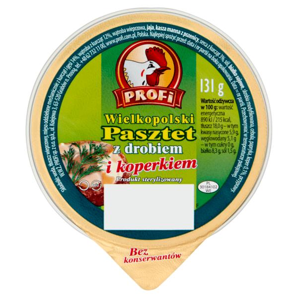 Profi Pastete mit Dill 131 g