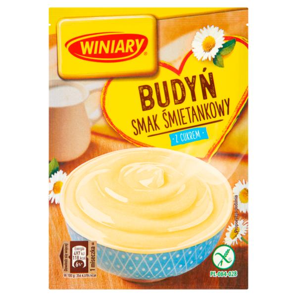 Winiary Pudding mit Zucker Sahnegeschmack 60 g