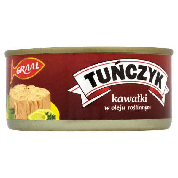 Graal Thunfischstücke in Pflanzenöl 170 g