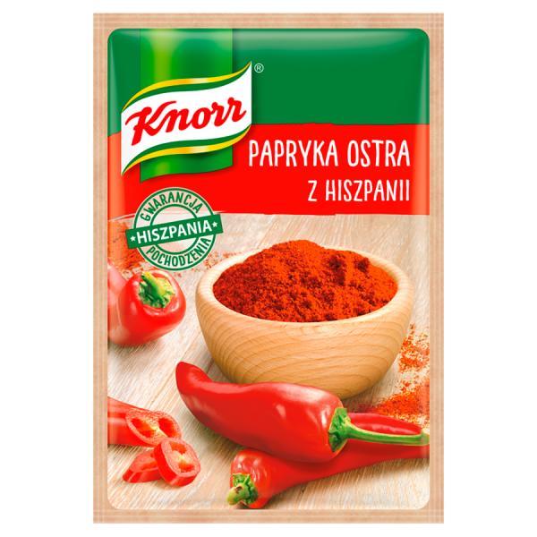 Knorr scharfe Paprika aus Spanien 20 g