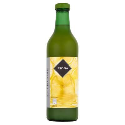 Rioba Zitronensaft aus konzentriertem Zitronensaft 0,75 l