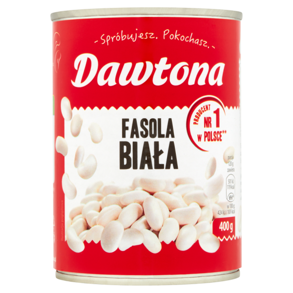 Dawtona Weiße Bohnen 400 g 6 Stück