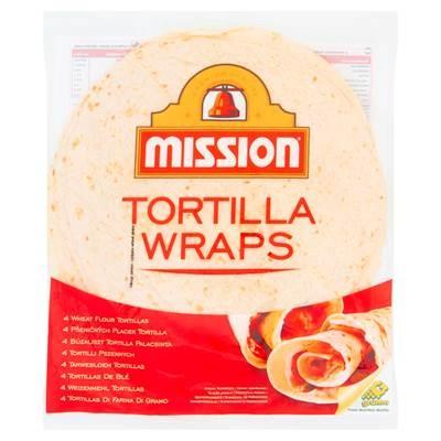 Mission Tortilla Wraps Weizentortilla 245 g (4 Stück)