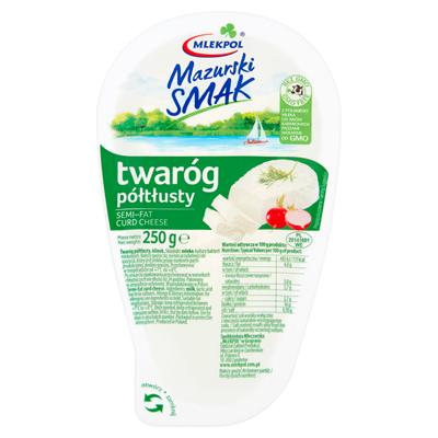 Mlekpol Mazurski smak Halbfetter Quarkkeil 250 g