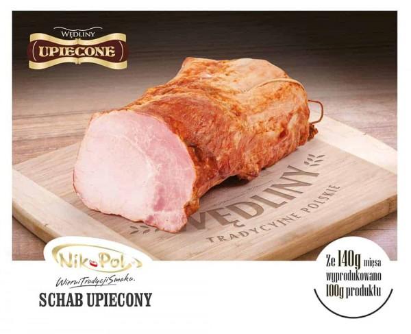 Nik-Pol Schweinerückens gebraten 1KG